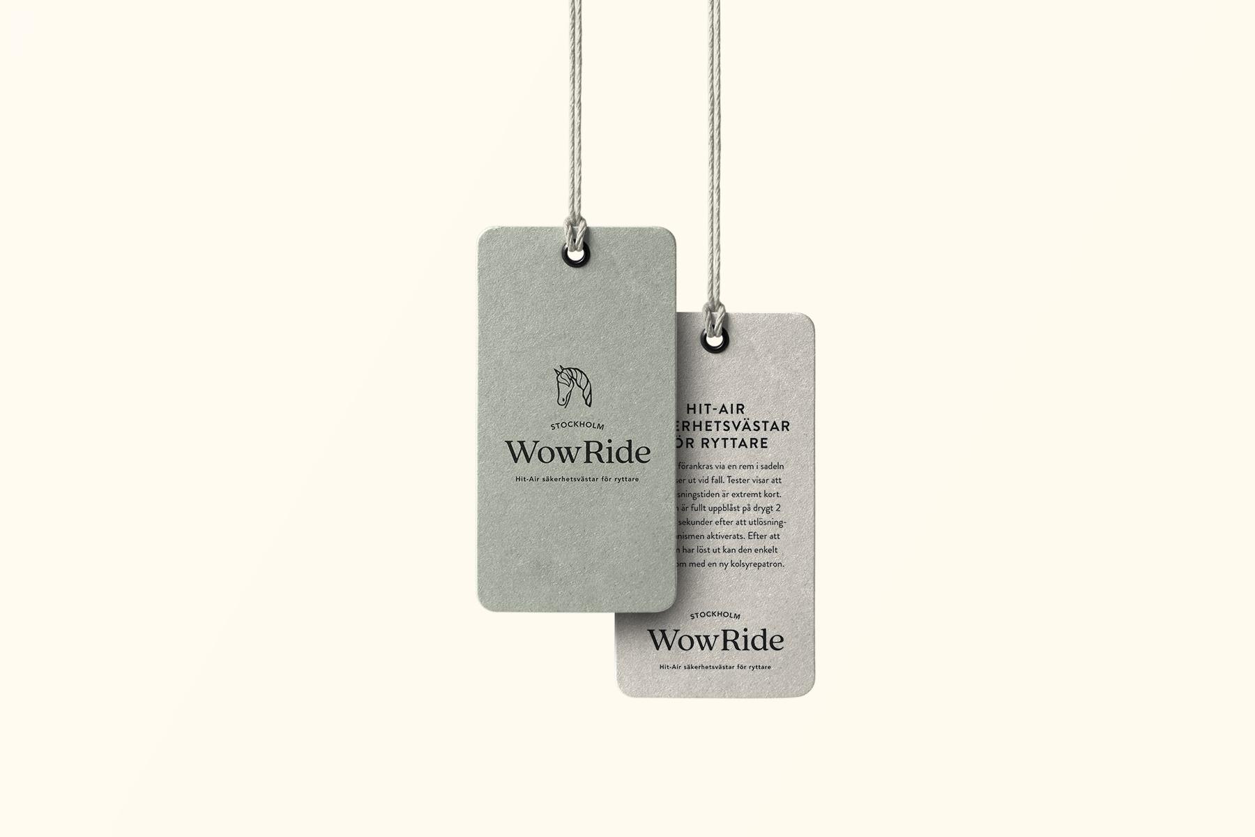 WOWRIDE STOCKHOLM — GRAFISK IDENTITET & HEMSIDA