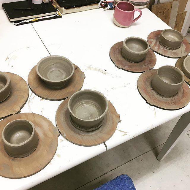 We made them! #ceramics