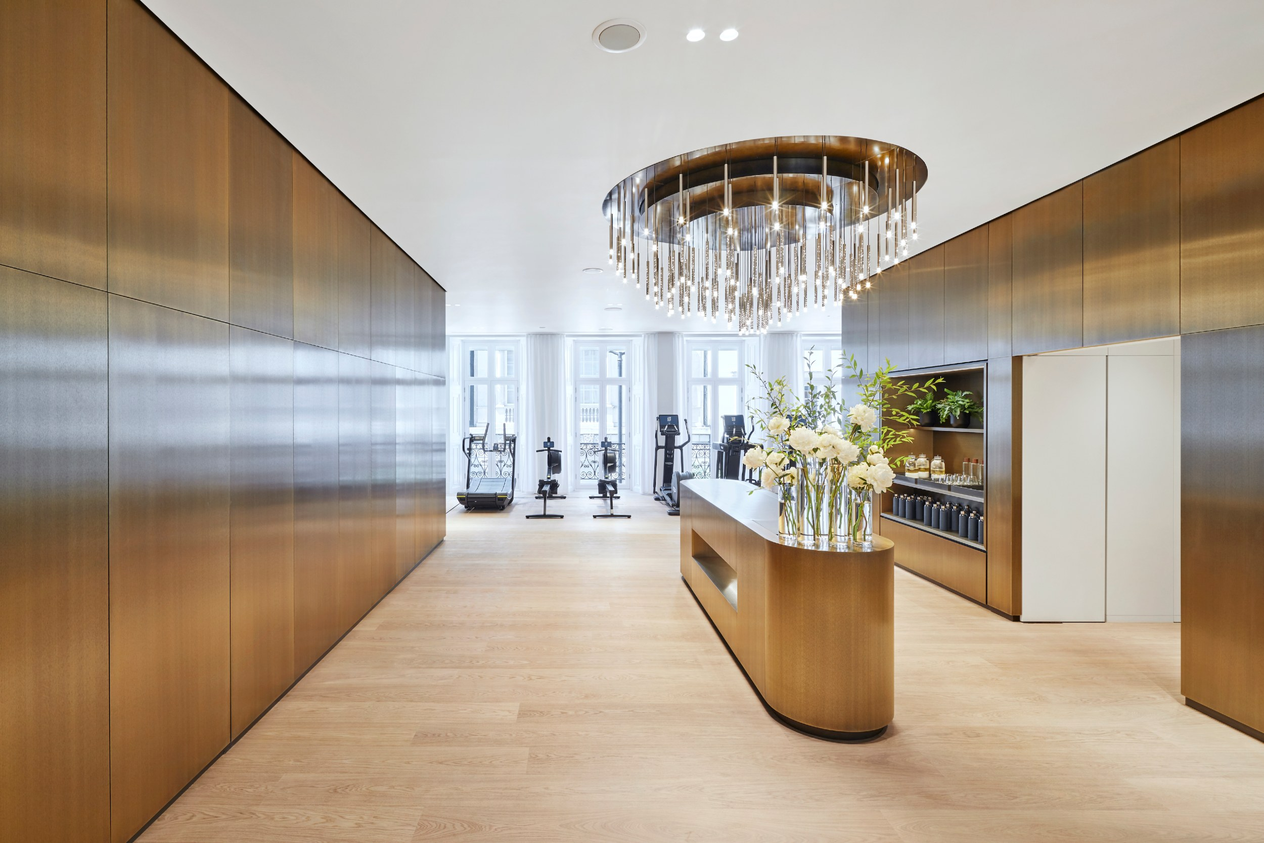 Forge Architects lanserhof at the arts club gym entrance