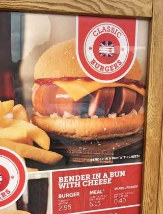 Bender in a bun
