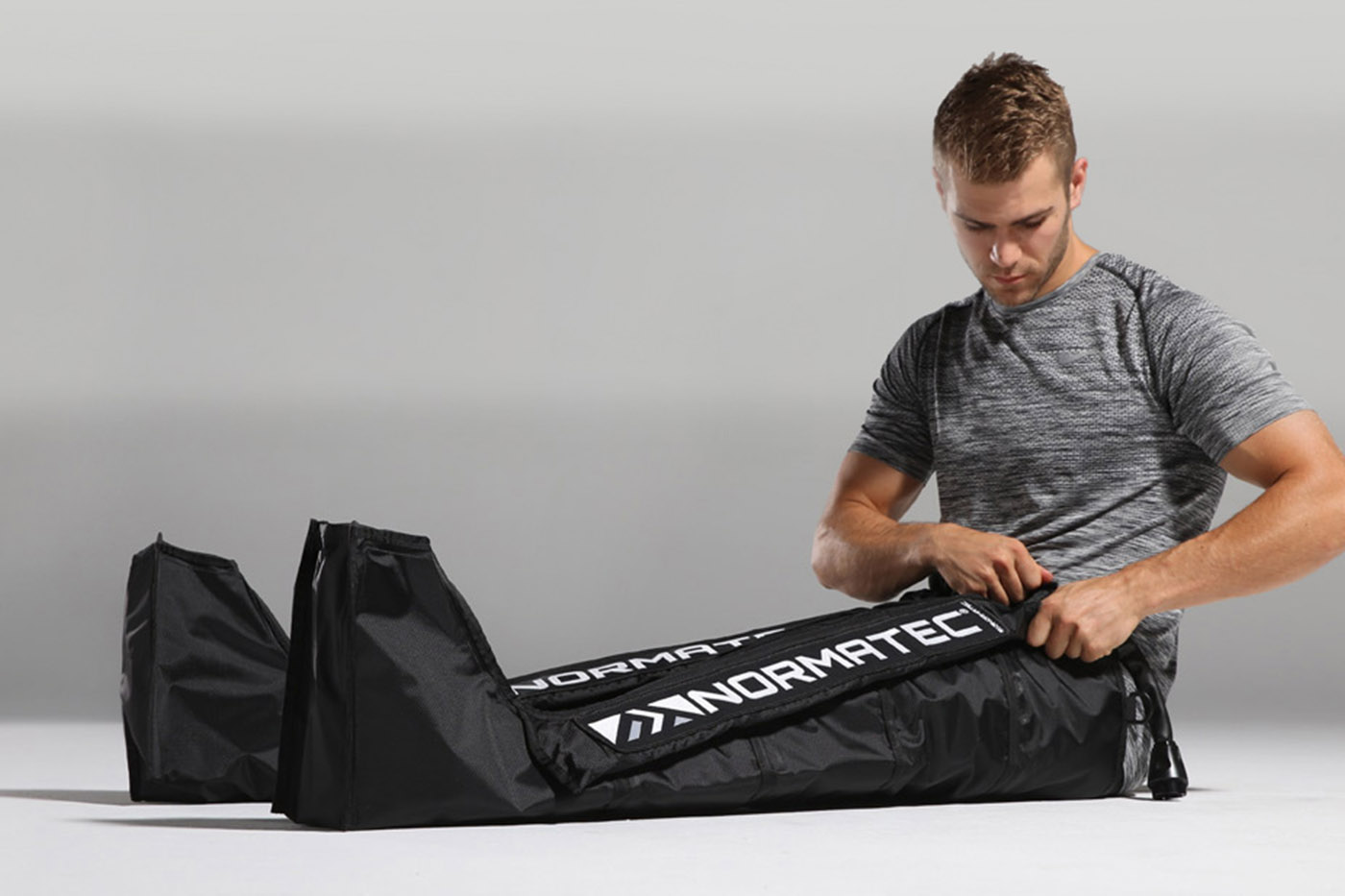 NORMATEC compression - Come and relax in the Recovery Room's plush, leather recliner chairs and experience the power of the NormaTec Recovery System. Give yourself the same competitive edge as the world's top athletes.