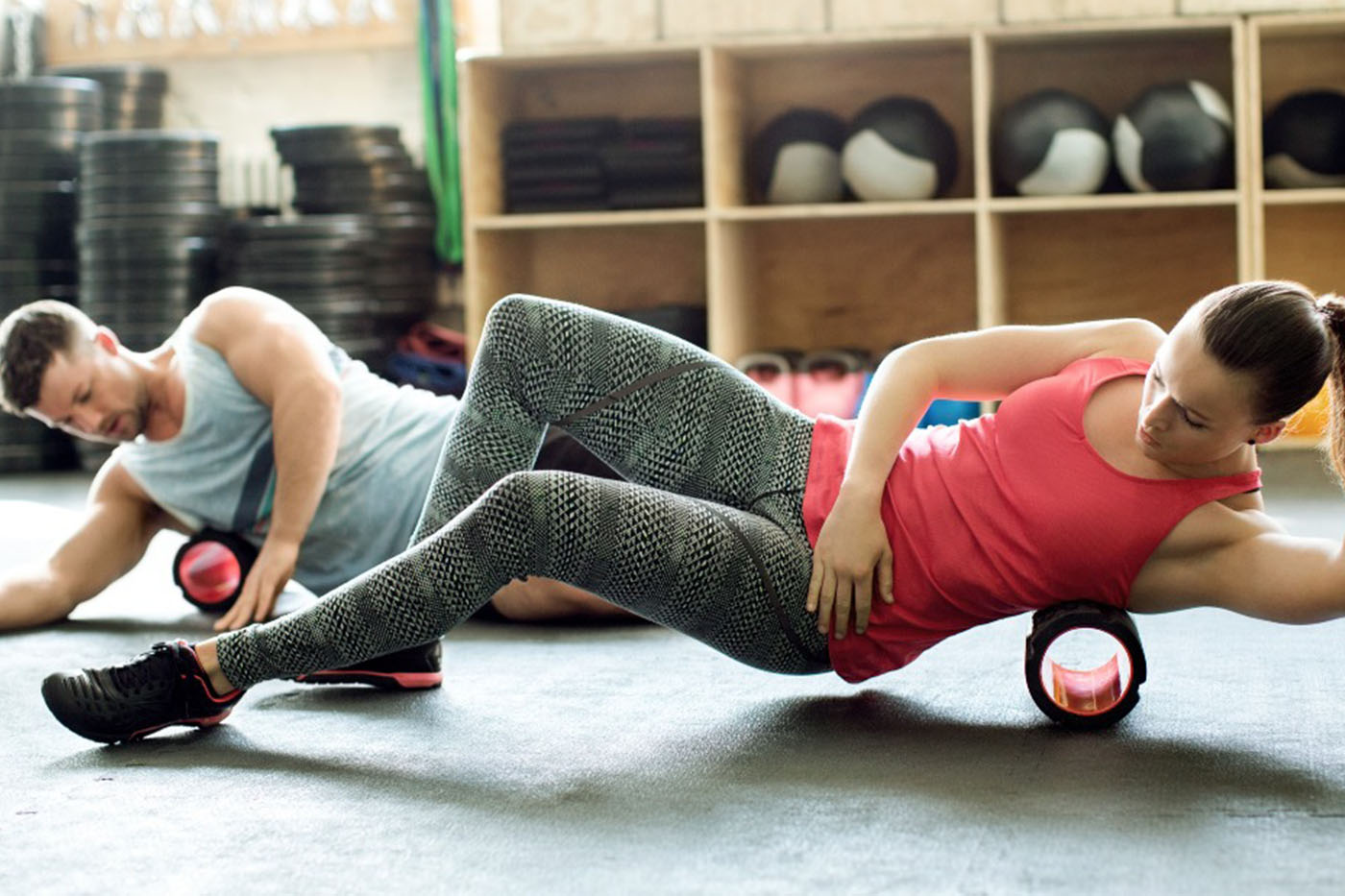 Mobility zone - Manage your recovery with our foam rollers, and release tools.