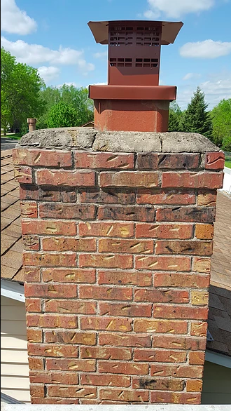 Minneapolis Chimney Repair Before And After Minneapolis