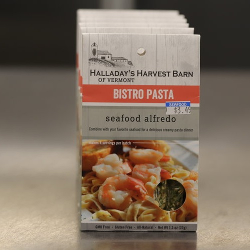 Halladay's Harvest Barn of Vermont Seafood Alfredo Bistro Pasta Seasoning