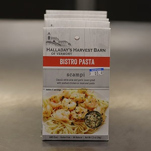 Halladay's Harvest Barn of Vermont Scampi Bistro Pasta Seasoning