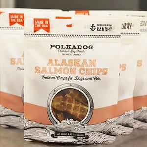 Polkadog Alaskan Salmon Chips