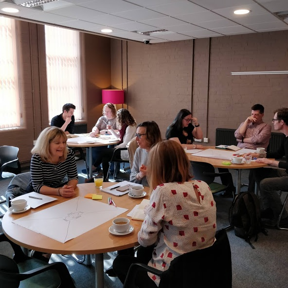 facilitation training - We run a three-hour become a confident facilitator workshop. You can hire us to run the session internally for your staff or look out for our next public-facing workshop here.
