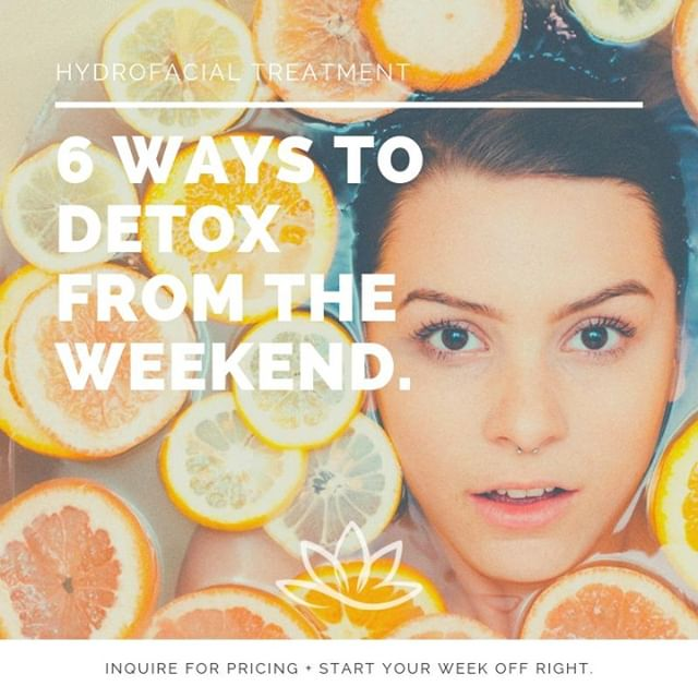 Weekends are meant for relaxing - and for many, that means brunch, alcohol, and some over-indulging. It's a new week and a new opportunity to get back on track!  Detoxing can mean starting your day with a cup of hot lemon water or green tea, waking up your body with delicious stretching, getting a solid 7-8 hours of sleep, clearing your mind with 10 minutes of meditation, eating healthy meals full of protein and probiotics like Greek yogurt and kombucha, and detoxing your skin. We are offering the ultimate in refreshing facials with our signature HYDROFACIAL, the perfect way to detox after a weekend under the sun.  Tap our link in bio book today! . . . . . #PREMIERMedSpa #ModernMedSpa #MedSpa #DaySpa #HallandaleBeach #Miami #SouthFlorida #Miami #Hallandale #Aventura #MedSpaMiami #MedSpaHallandale #DaySpaHallandale #Massages #MassageTherapist #Spa #Facials #SpaFacials #SkinCare #MicrobladingEyeBrows #Phibrows #PowderBrows #Infusions #IVTherapy #Wellness #WellnessPrograms