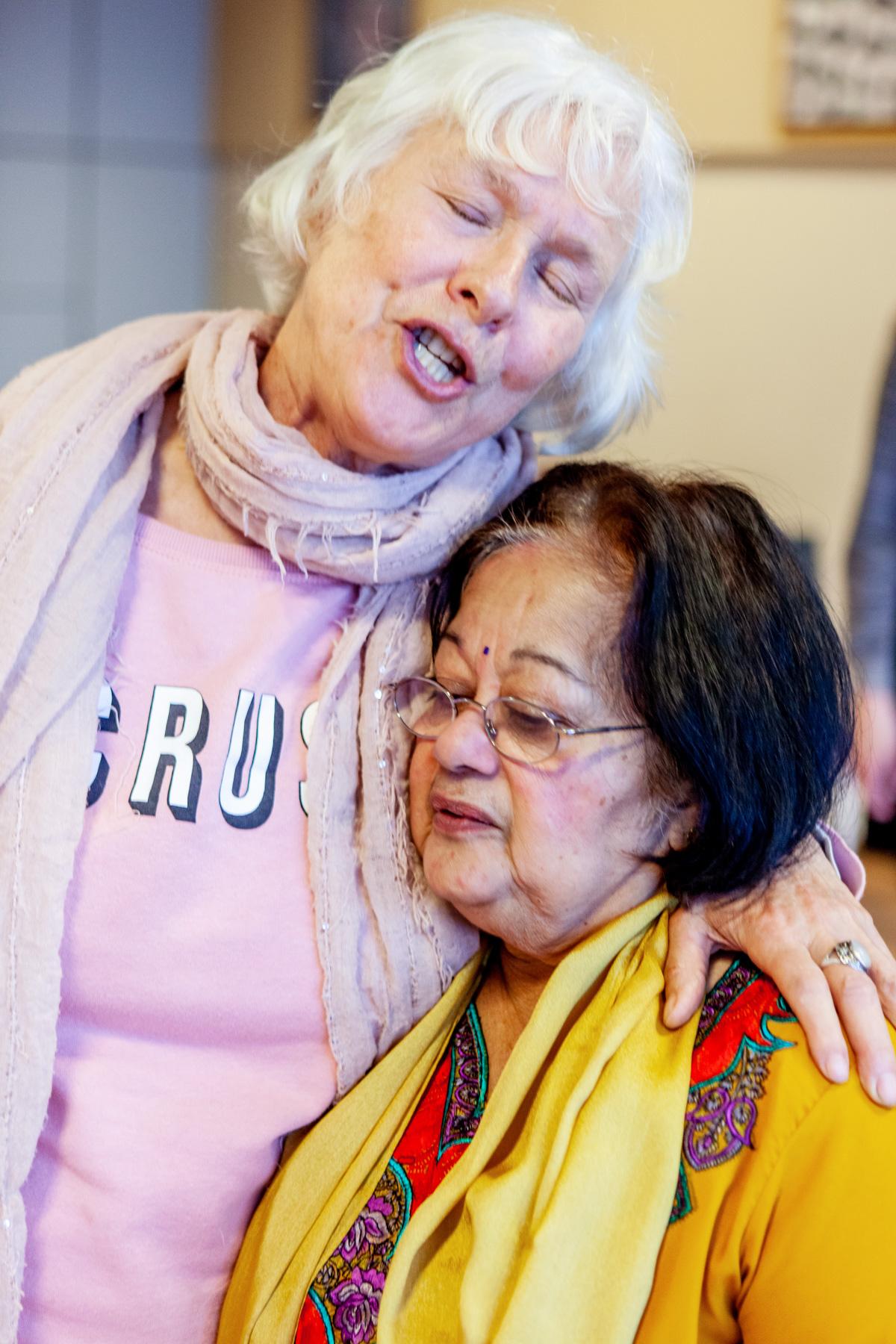 Yayanti van der Meer kwam omdat ze verbinding zocht met zichzelf en met anderen. 'Dat is goed gelukt.'