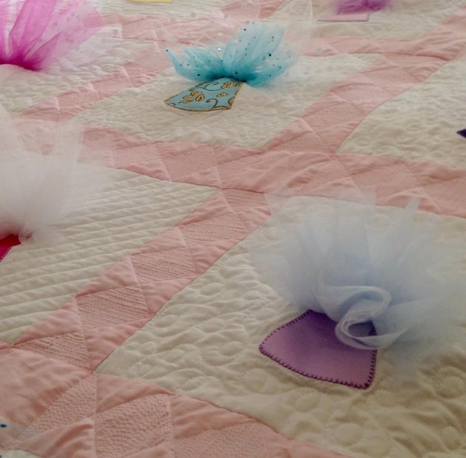 Tutu Cute - Celebrate the dancer in your life with a wall hanging or quilt.