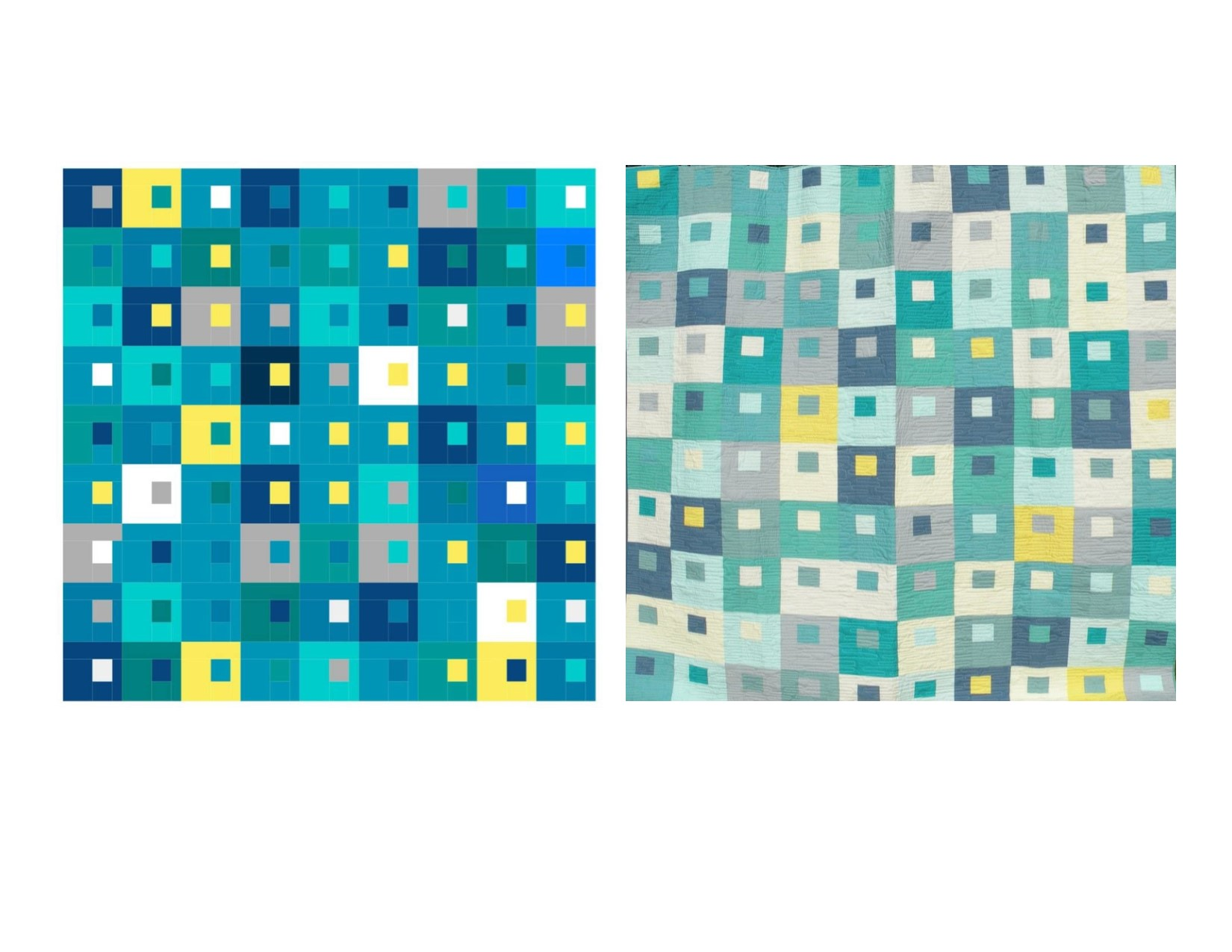 Your vision through my hands… - I work with clients all the time via EQ8 design software to create unique quilts.