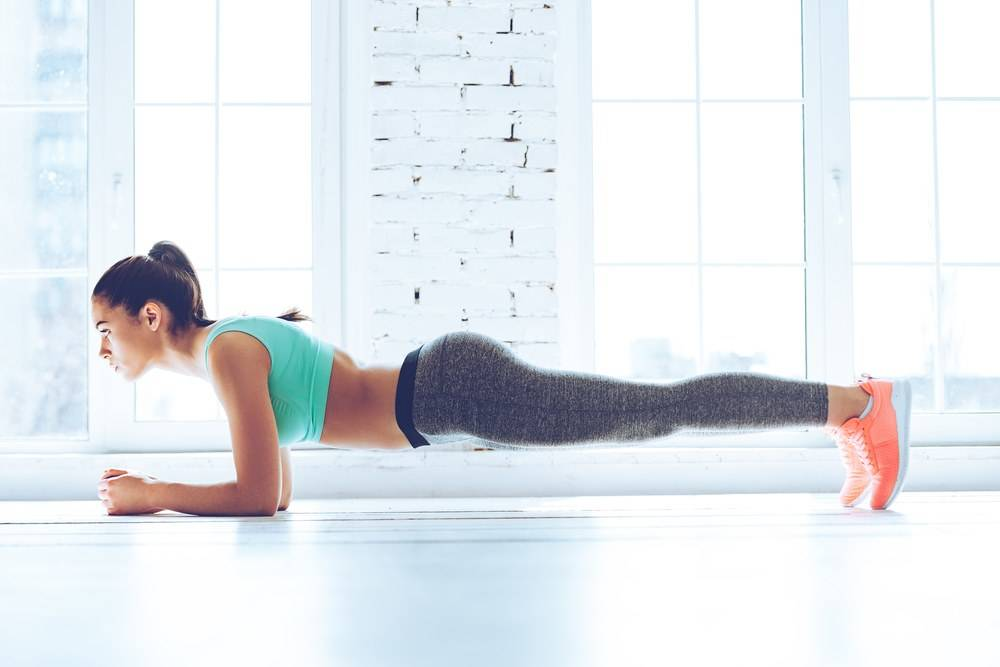 Benefits of doing planks exercises