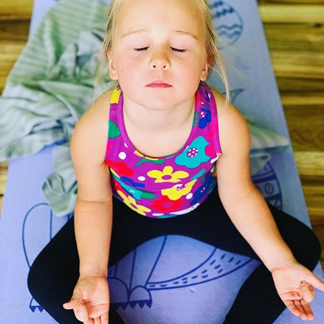 Find a moment in your day for some Mindfulness and Peace within.  Z O E Y  #ifiwasabirdyoga #whereeveryposeisachildspose #mindfulnessforkids #kidsyogastudio #kidsyoga #justbreathe #namaste