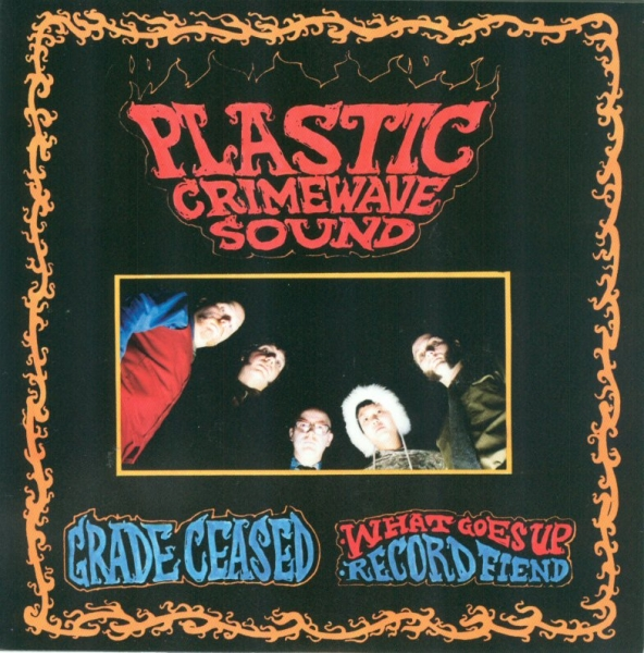 "PCWSound ""Grade Ceased"" 45 Deadstock of band's first 45! Limited quantities, $6"