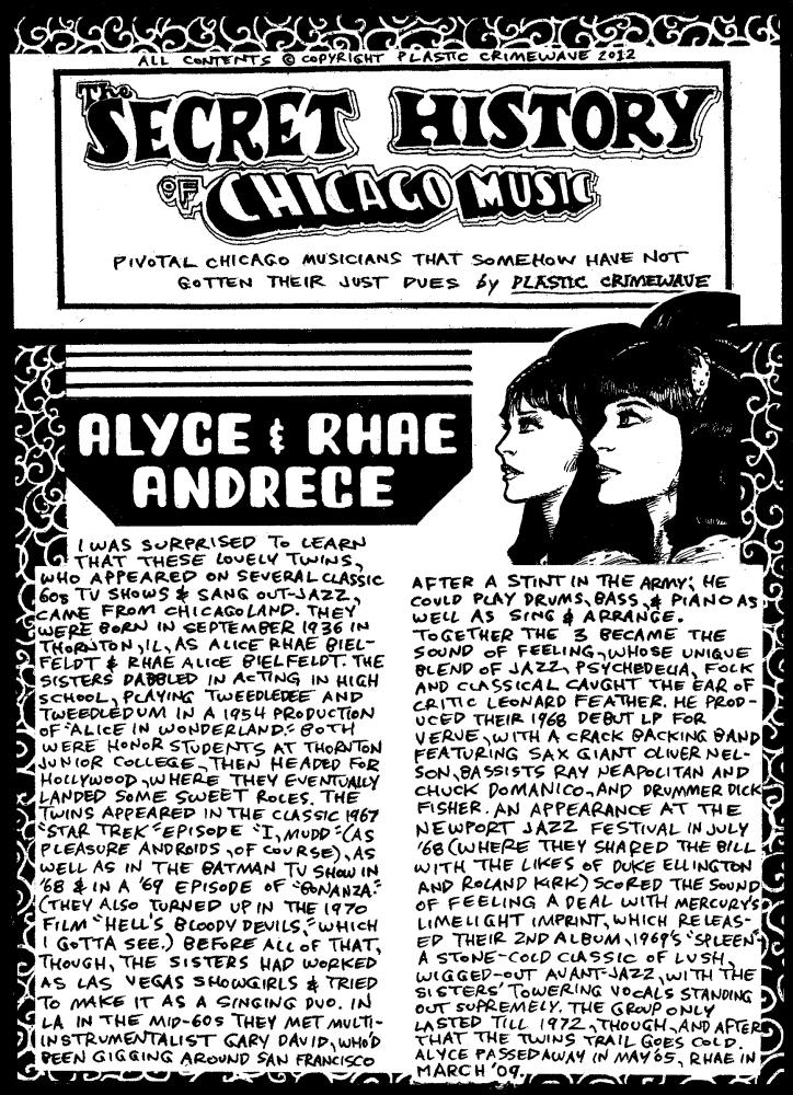 Alyce & Rhae  Andrece
