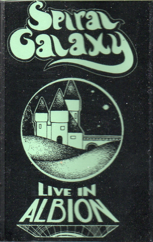 "Spiral Galaxy ""Live in Albion"" CS of live in thee UK tour shows by PCW spacey/kosmische duo $6"