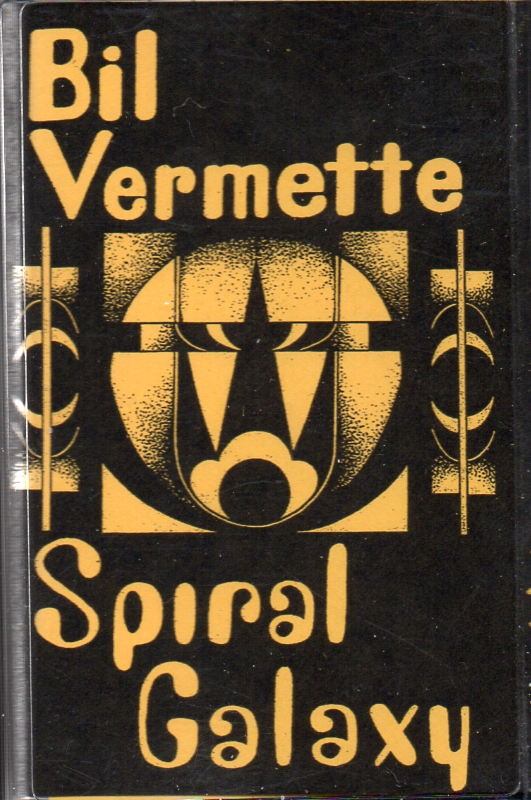Spiral Galaxy/Bil Vermette CS split of live shows by PCW spacey duo and synth legend $6