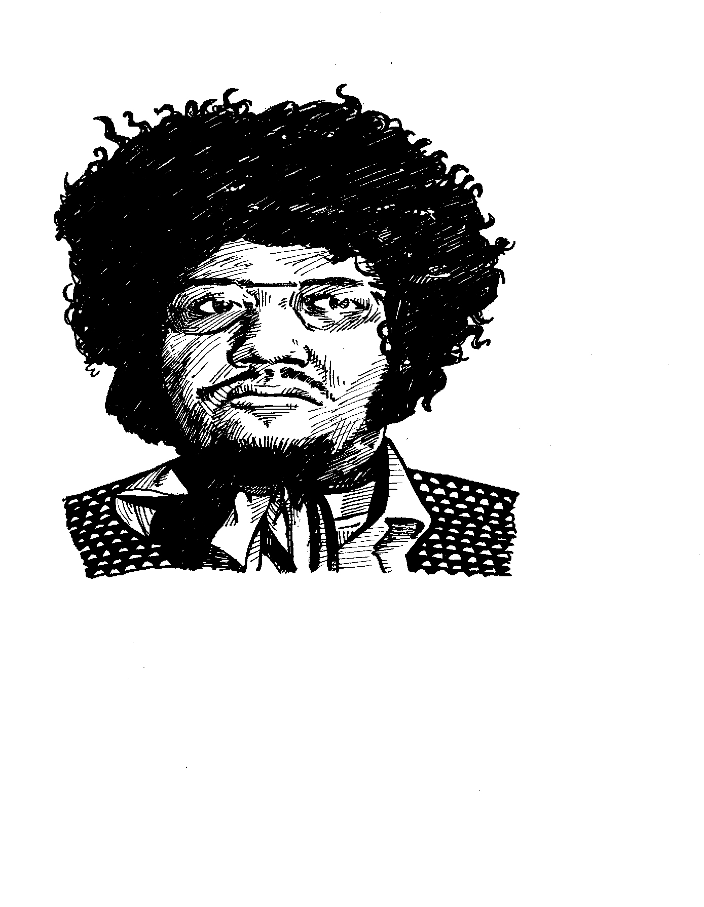 $175 (smaller drawing), Baby Huey from Secret History of Chicago Music