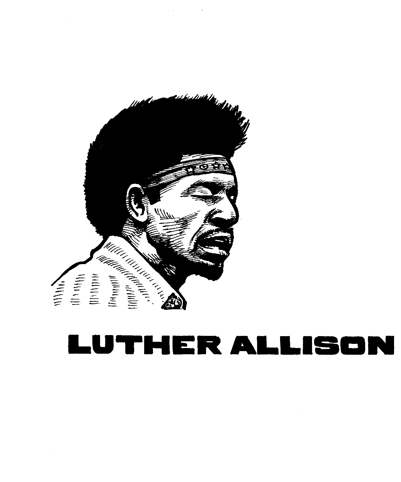 $250, Luther Allison and logo used in Secret History of Chicago Music