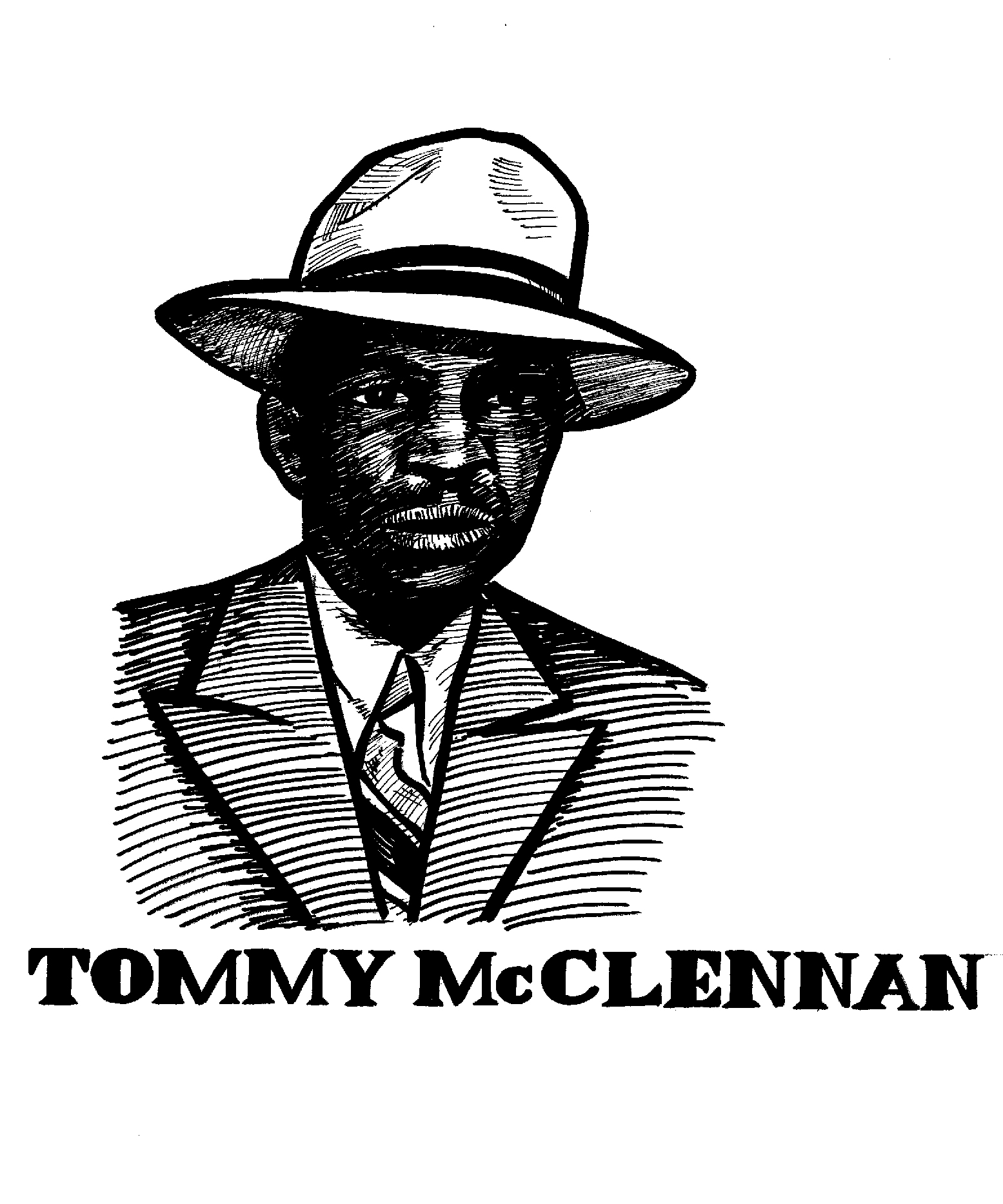 $250, Tommy McClennan and logo used in Secret History of Chicago Music