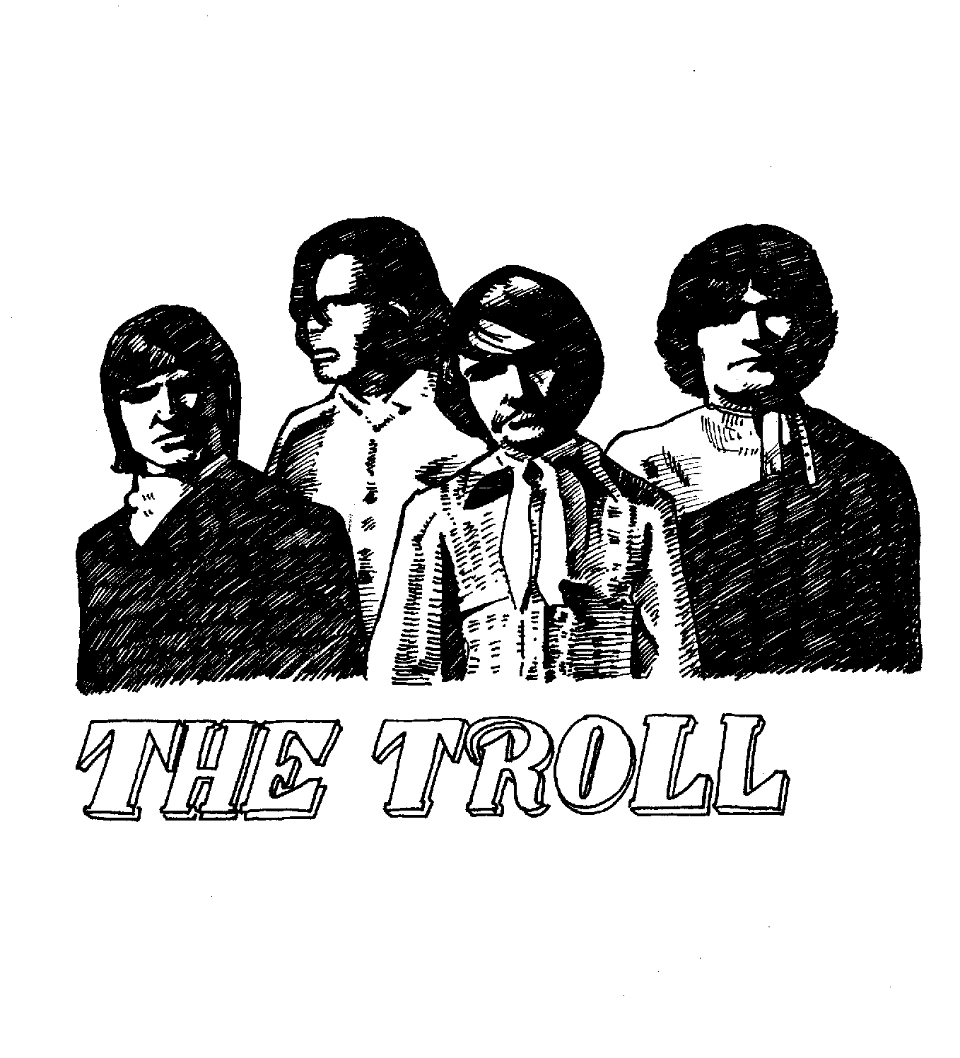 $300, The Troll and logo used in early Secret History of Chicago Music