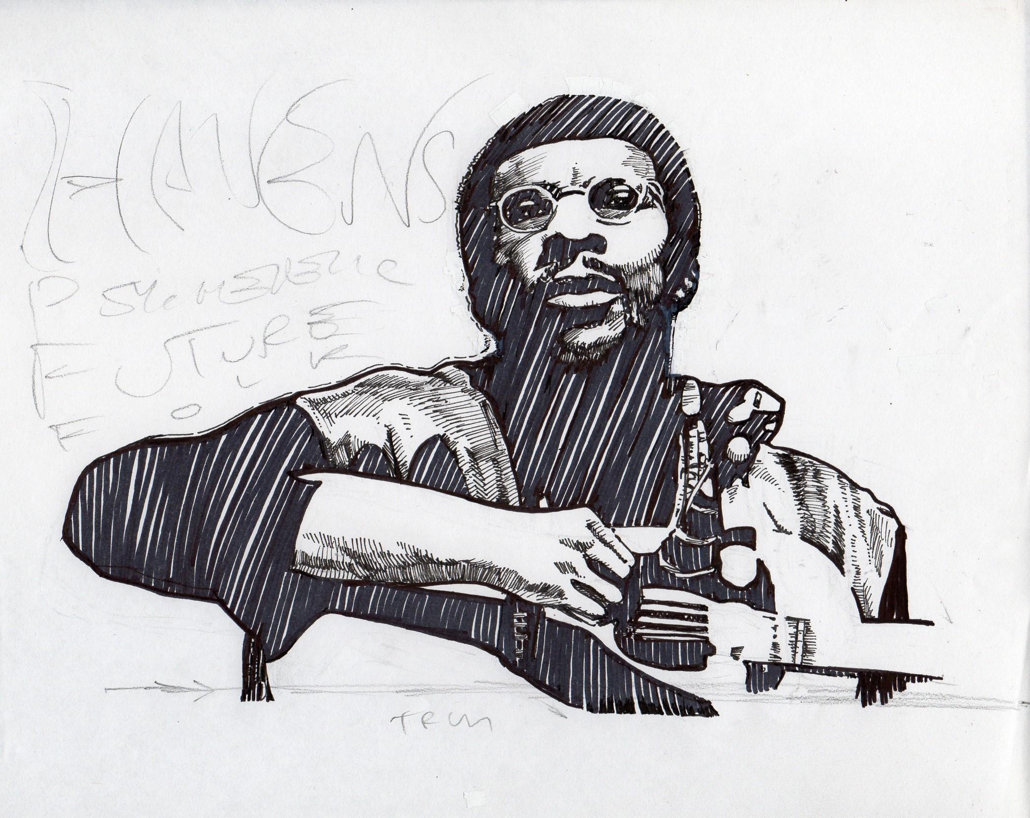 $250, Richie Havens plus sketch for GZD