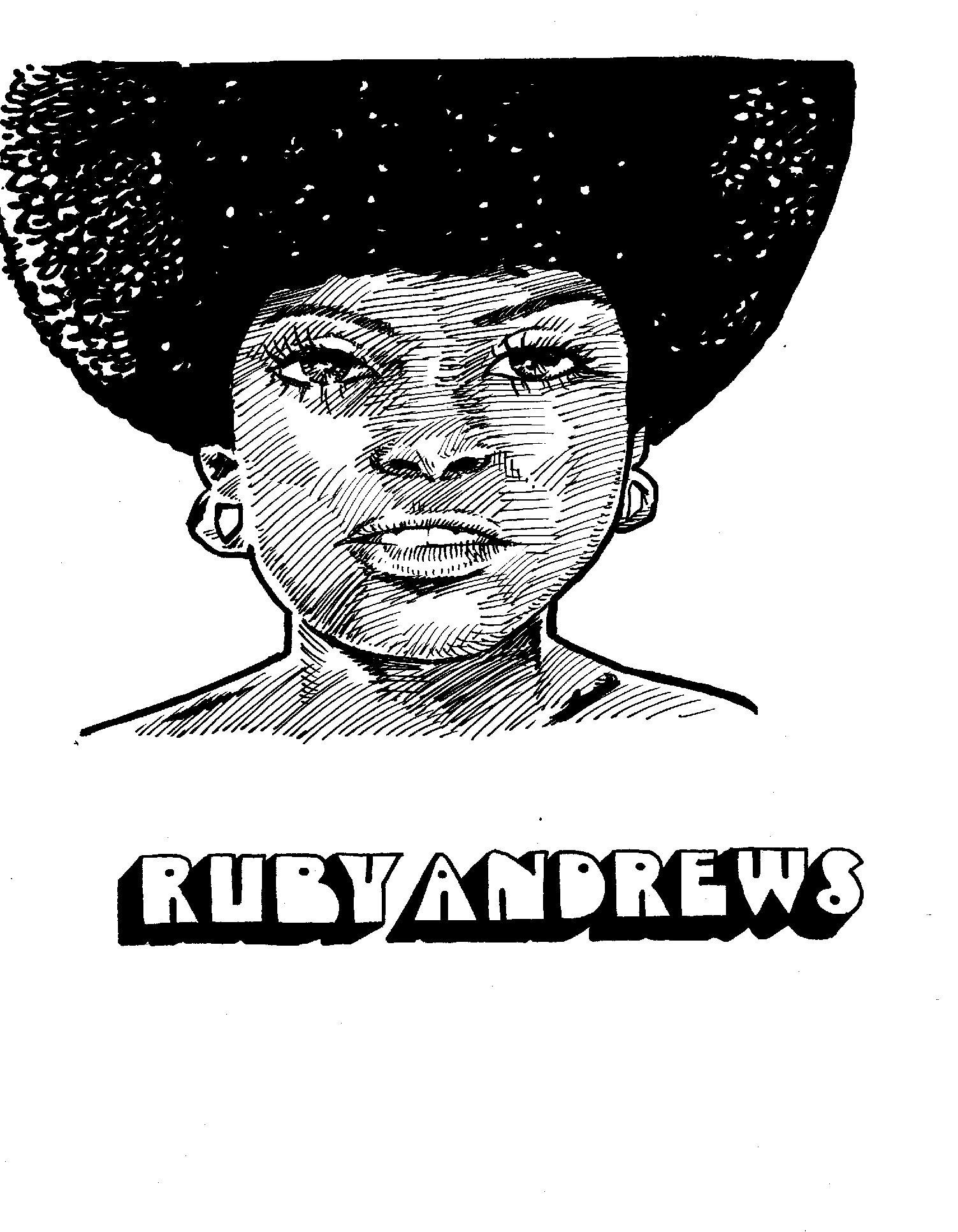 $250, Ruby Andrews with logo from Secret History of Chicago Music