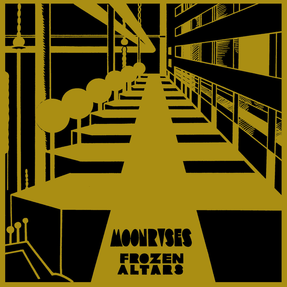 "Moonrises ""Frozen Altars"" LP (Captcha records) Out of print LP of PCW's long gone punk-prog band w/Ben Baker Billington (Quicksails, Tiger Hatchery) and Libby Ramer $15"