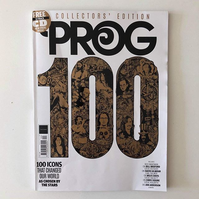 Happy 100th issue @progmagazine! Pick up this new issue for a great review of Gong's London show back in May