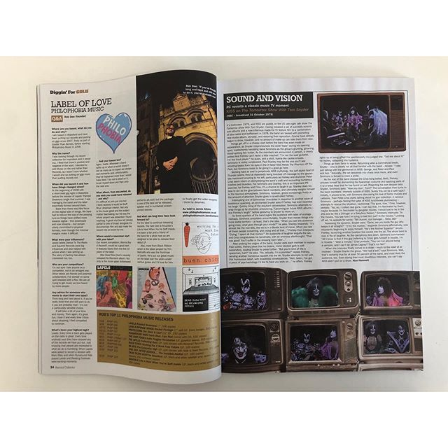 Grab this months copy of @recordcollectormag for a look into the world of @philophobia_music!  Home to our @weareknuckle & @mi.mye - there's a lot to dig into it and a lot to love in their back catalogue
