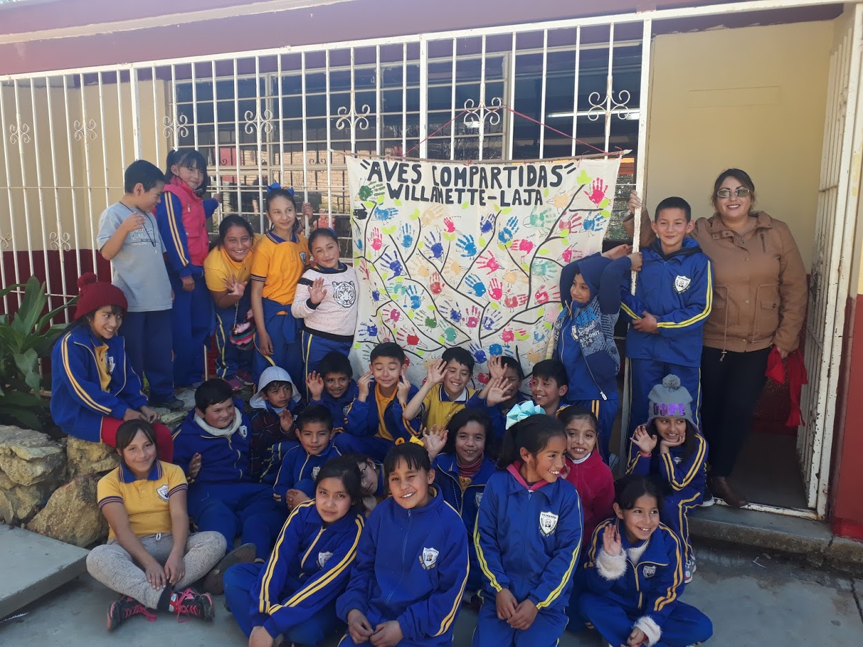 """""""Students feel a connection to the environment through their exploration and understanding of how these experiences are shared. I love that I am learning alongside my students through participation in this program. As a teacher this keeps me very motivated. It has been valuable to me to see how this hands on, real-world learning provides a deeper understanding for students and enables them to use their multiple intelengences.""""  -Teacher, Elvira Huidor Dever, Garfield Elementary School, Corvallis, Oregon"""