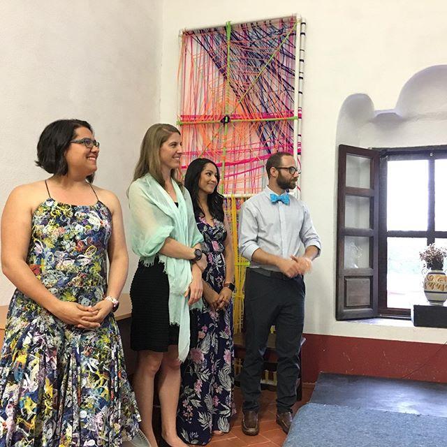 Los maestros de Oregon y Rosario Franco presentaron sobre el proyecto hermanamiento y sus experiencias. The teachers from Oregon and Rosario Franco present about the twinning project and their experience with the project.
