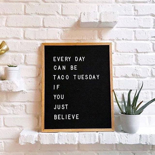 We believe. #tacoseveryday  📷: @taralenneydesign. . . . . . #atxtacos #vegantacos #rawtacos #coworkingandtacos #foodismedicine
