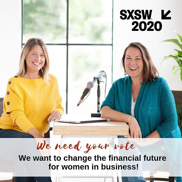"Community voting is now open! You have until August 23 to vote for ""SHIFTING THE FINANCIAL FUTURE OF WOMEN IN BUSINESS"", a live podcast co-hosted by @ConsciousAmbition and @Sonya Stattmann #SXSW2020  #sxswpanelpicker ---  Click link in bio to vote! . . . . #SXSW #podcaster #womeninbusiness #community #podcastforchange #connectiion"