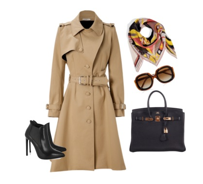 The Trench Coat - A key essential wardrobe piece