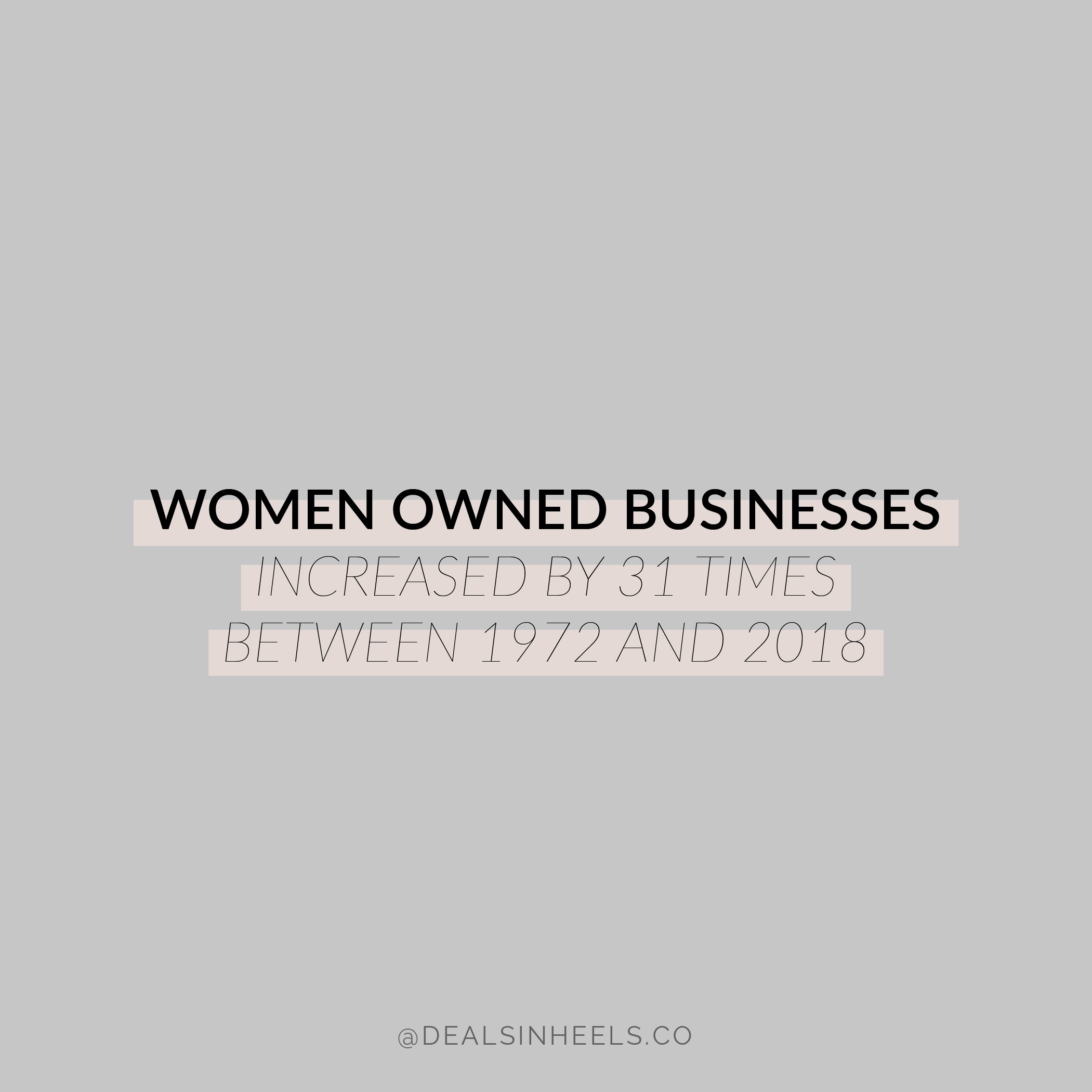 DEALS IN HEELS WOMEN OWNED BUSINESSES