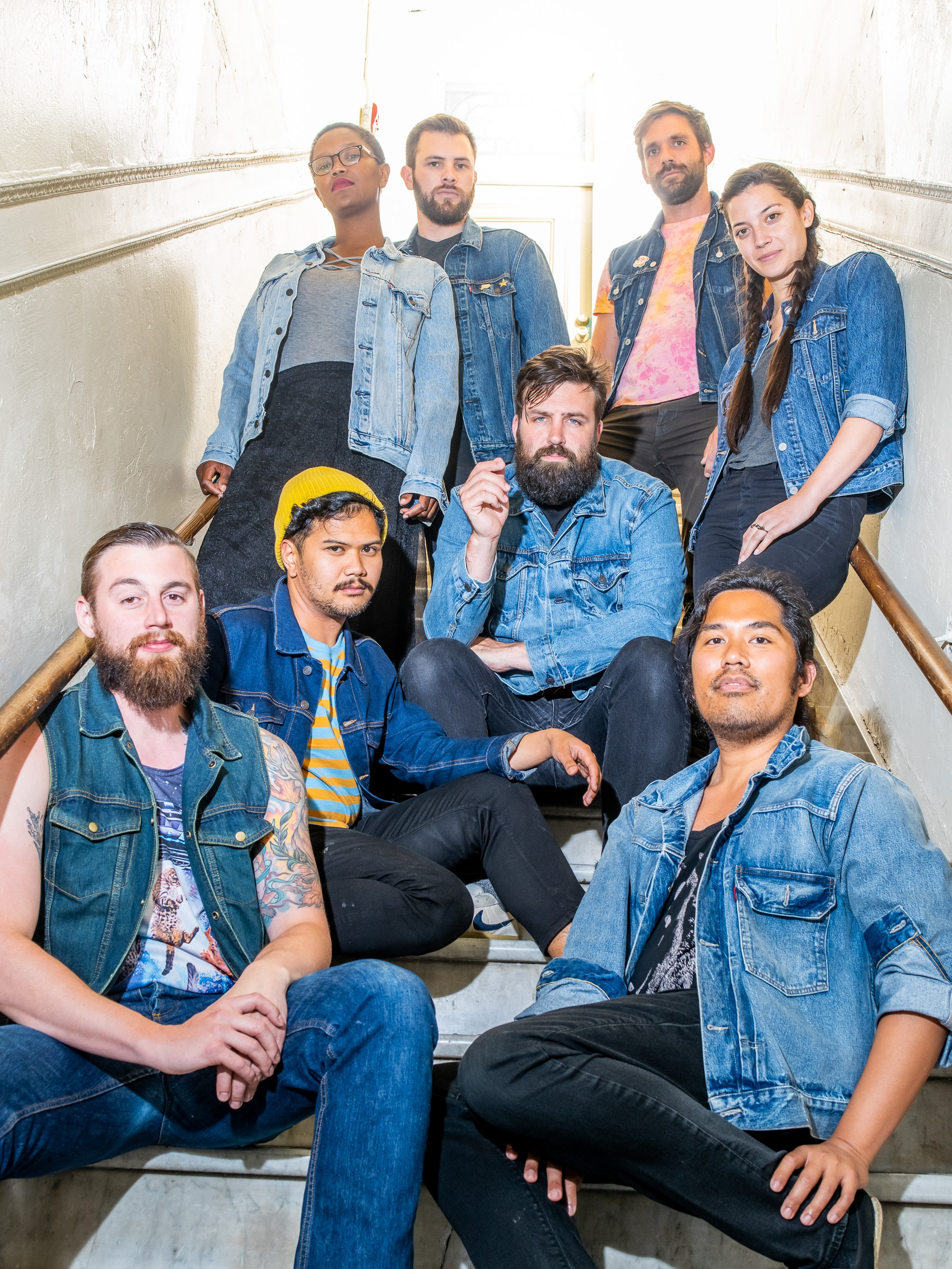 LEARN ABOUT THE CAST AND CREW - Our diverse cast and crew are all out of San Francisco. 8 friends who have been playing together for years.CAST AND CREW