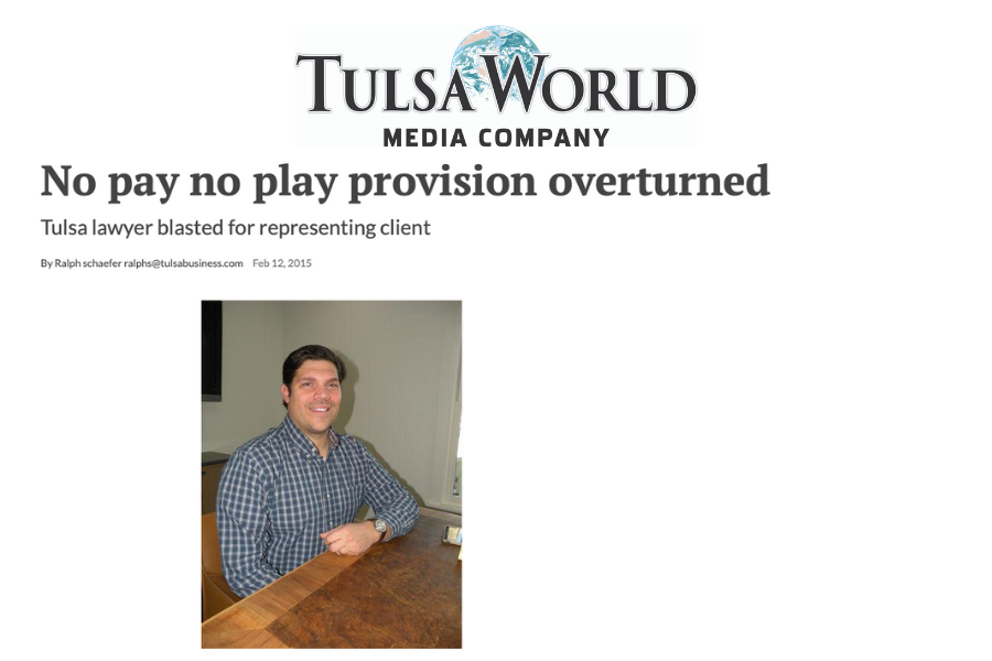 No Pay No Play provision overturned.png