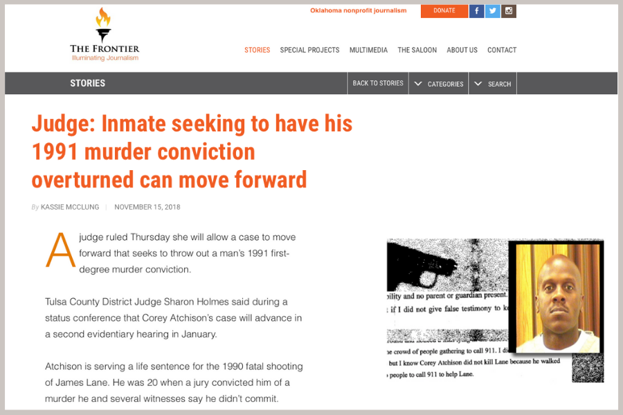 Judge Inmate seeking to have his 1991.Tulsa.Attorney.Joe Norwood. Blog.png