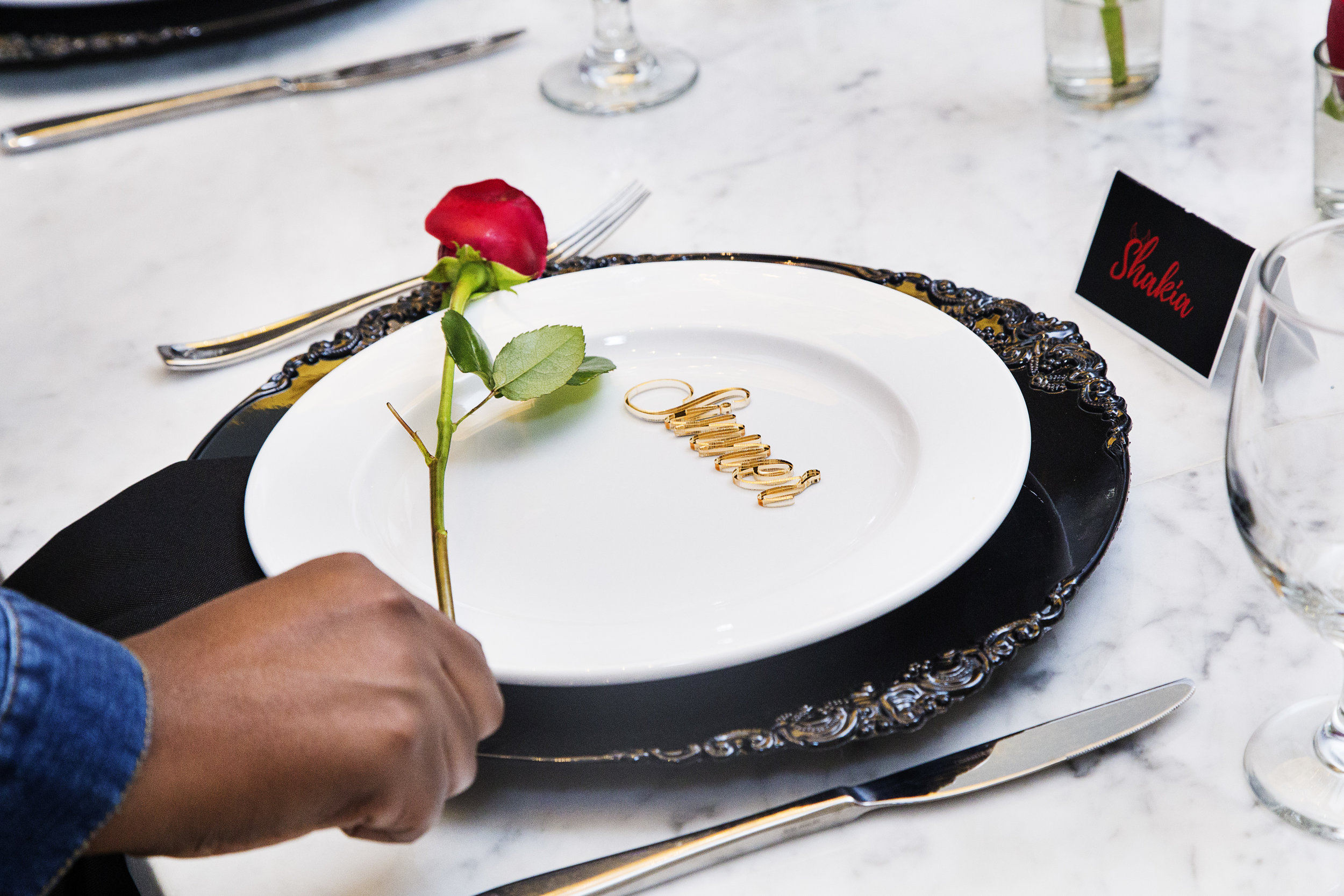 saints vs sinners dinner table setting for sinner.jpg