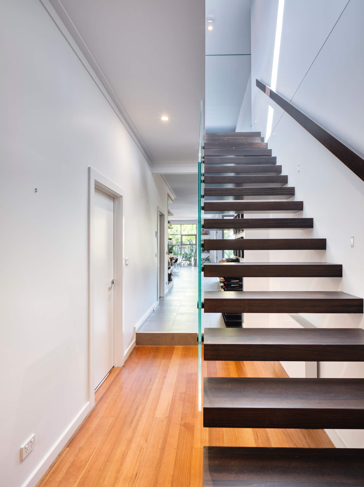 Staircase leading up to converted attic extension.jpg