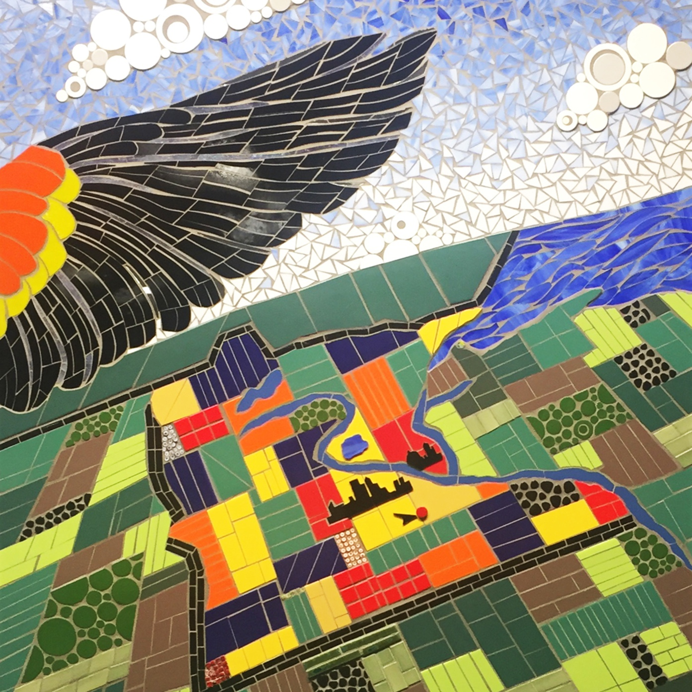 Wings Financial Credit Union - (semi-representational; art consultant project)