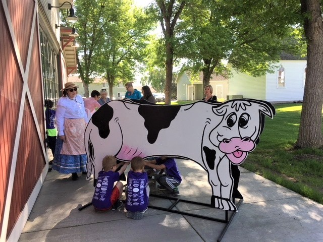 Time Travelers Beauty the Cow with Mandy Ottley 2019.jpg