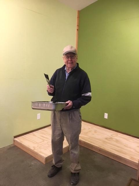 Barn October Ron Moen volunteer painter.JPG