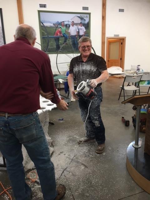 QVHSM Barn Exhibit March 2019.JPG