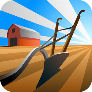 The farmAR app icon, available for free download on your smartphone app store.