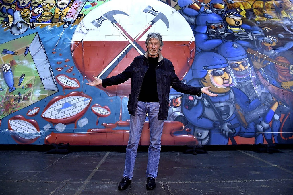 OS GEMEOS X ROGER WATERS