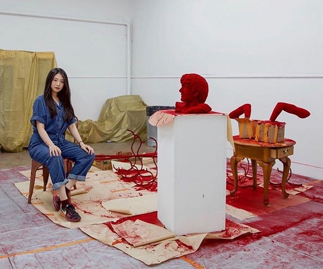 Tomorrow night is the opening of our artist in residence Wang Huimeng's show at Make Room gallery from 6-9pm. We hope to see you there! @strictlyfictional @makeroom.la