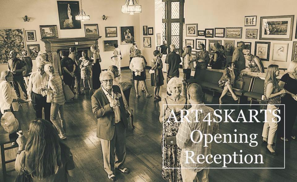 Art4skarts - Join us for the 4th Annual Art4Skarts Opening Reception on July 18, 2019!