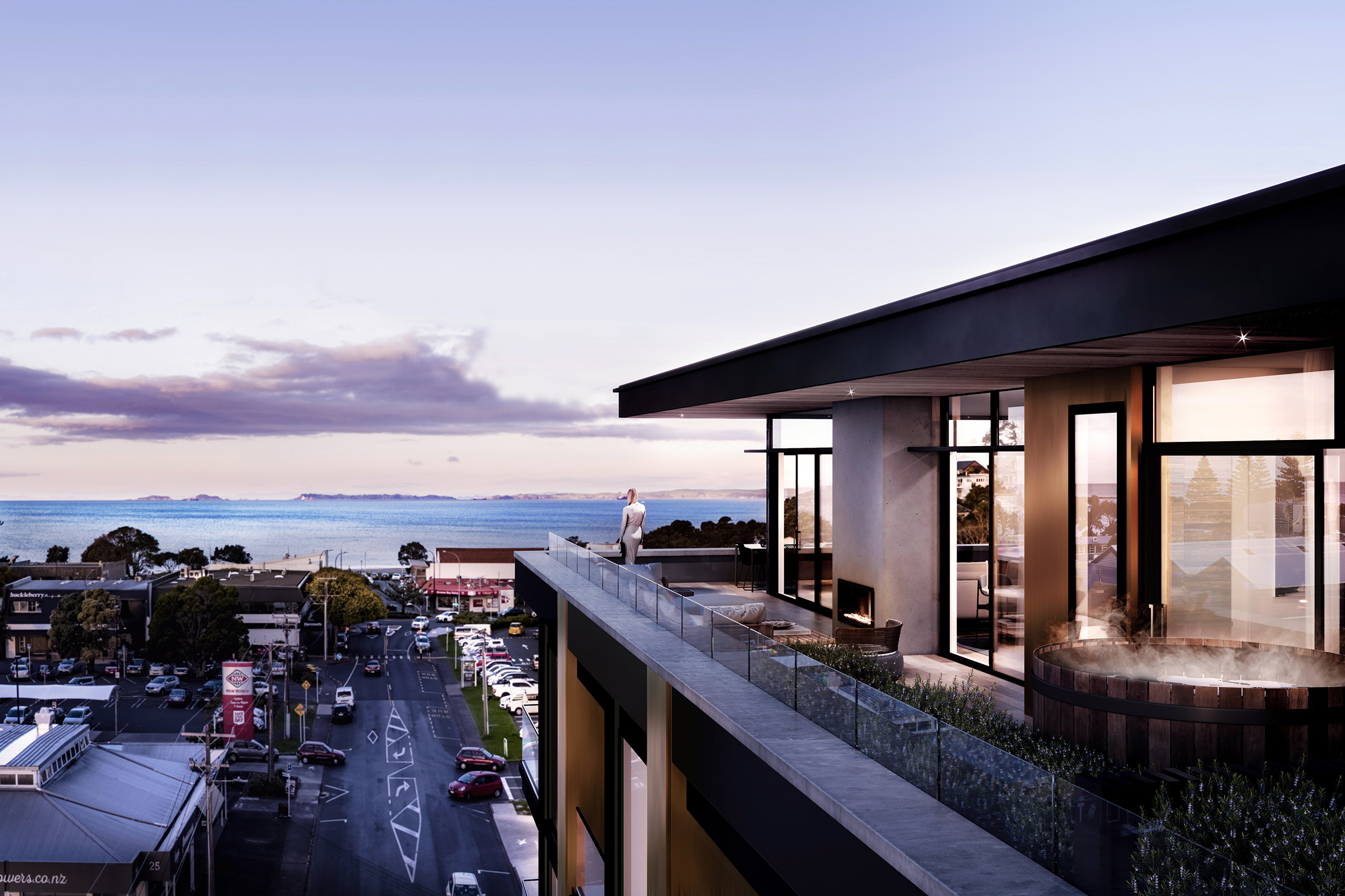 Kauri Residences - Units: 53 / Value: 52M / Matz Architects / 30–32 Anzac Road, Browns Bay, Auckland*in partnership with NFK PrestigeFor more information visit: Kauriresidences.co.nz